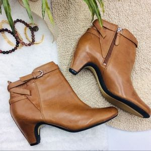 Sam Edelman Leather Maddox Ankle Boots